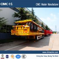 Wholesale 50 ton 40 ton 3 axles carry 40/20ft Contailers flatbed trailer from china suppliers