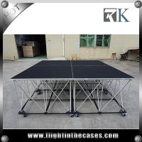 Wholesale Wedding stage outdoor concert stage sale price finished the stage glass stage portable stage from china suppliers
