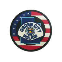 Wholesale Ogden City Police Promotion 2D Custom Plastic Coasters Silicon from china suppliers