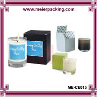 Wholesale Custom birthday favor candle paper packaging box ME-CE015 from china suppliers