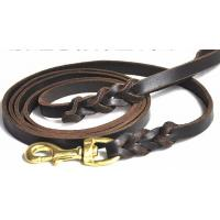 Wholesale 2012 wholesale Dog LEAD,100% Gunuine Leather,S/M/L, 2 colors from china suppliers
