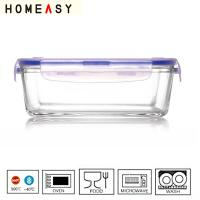 Wholesale Rectangular Glass Food Storage Containers 850ml Ovenable FDA LFGB  from china suppliers