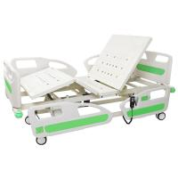 ICU ABS Headboard Electric Hospital Bed Adjustable Multi Functions