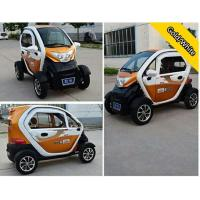 Wholesale Close Body Passenger 4 Wheel Electric Car With 72V 24 Tube Controller from china suppliers