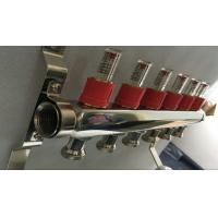 Wholesale House Long Flow Meter  Manifold For Underfloor Heating On Stainless Steel 304 from china suppliers