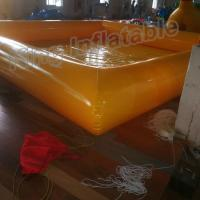 Wholesale New Design 0.9mm PVC Tarpaulin Single Layer Inflatable Swimming Pools For Family Fun from china suppliers