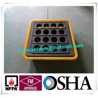 Wholesale IBC Chemical Spill Containment Trays , 4 IBC Tank Safety Storage Spill Deck And Spill Pallet from china suppliers