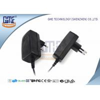 Wholesale CCTV Camera EU Plug AC DC Power Adapter 12v 1a With GS Certificated from china suppliers