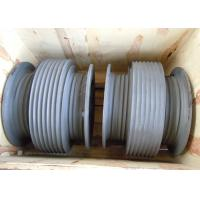 Wholesale Aluminium Alloy Drum Shaped Wire Rope Reel with Different Reel Diameter from china suppliers