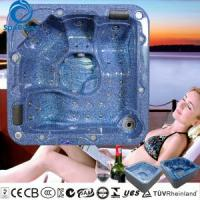 Wholesale Popular 5 person whirlpool massage bathtub with changeable massage neck collar from china suppliers