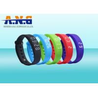 Wholesale USB Port HF Rfid Tags , Sport Rfid Silicone Wristbands with FM1108 chip from china suppliers