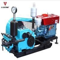 Wholesale BW160/10 Large Triplex Mud Pump with Hydraulic motor piston 14.7kW from china suppliers