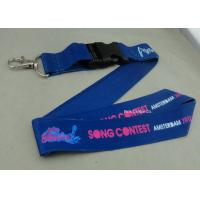 Quality Full Color Printing Promotional Lanyards Sport Meeting Medal Ribbon / ID Neck Ribbon for sale