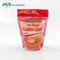Wholesale Beautiful Printing Stand Up Gusseted Pouch Anti Leakage For Breading Packaging from china suppliers