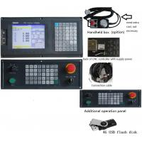 Quality Design Humane 4 Axis milling CNC Controller system with usb + dsp function, PLC ladder and ATC for sale