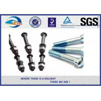 Wholesale Railway Bolt SGS Inspected , Black Rail Joint Bolt 40Cr Carbon Steel from china suppliers