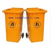 Wholesale 240L Plastic waste bins with CE certificate from china suppliers