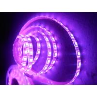 Wholesale Commercial IP65 waterproof Purple Flexible RGB Led Strip Tape 60leds per meter from china suppliers