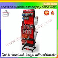 Wholesale 2015 wholesale custom new product rotating metal display stand display rack from china suppliers