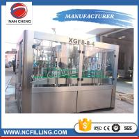 Wholesale 3 In 1 Automatic Water Bottle Filling Machine , Water Bottling Equipment Beverage Packaging from china suppliers