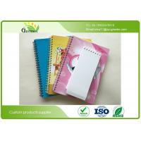 Wholesale Yellow Paper Blank Spiral Notebook , ROHS Spiral Bound Engineering Notebook  from china suppliers