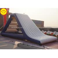 Wholesale Gigantic 0.9mm PVC Inflatable Floating Water Slide Airtight Aqua Slide from china suppliers