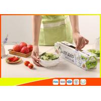 Buy cheap Clear Ldpe Food Cling Wrap Film , Recycable Plastic Stretch Film Food Grade from wholesalers