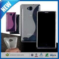 Wholesale Shock Absorbing S Line Shape Wave ZTE Blade G Lux V830 Personalised Mobile Phone Covers from china suppliers