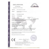 FOCC TECHNOLOGY CO,.LIMITED Certifications