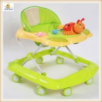 Wholesale Plastic Rolling Baby Walker Green from china suppliers