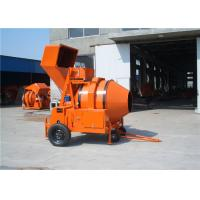 Wholesale Hydraulic Tipping Hopper Mobile Diesel Concrete Mixer Machine For Concrete Mixing Works from china suppliers