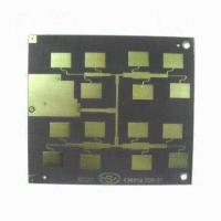 Wholesale High Frequency Double-sided PCB with Minimum Width of 0.12mm, Made of Teflon from china suppliers