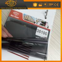 Quality High heat rejection 100% black 35% vlt nano ceramic car window solar tint film for sale