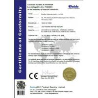 Brighter Optoelectronics Co., Ltd. Certifications