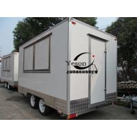Wholesale GRP Material Mobile Kitchen Concession Trailer For Ice Cream from china suppliers