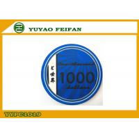 Wholesale Blue K WORLD Laser Custom Ceramic Poker Chips Design 1000 Denomination from china suppliers