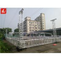 Wholesale 6082 Recyclable Stage Roof Truss 12 - 30m Max Span for Outdoor Events from china suppliers
