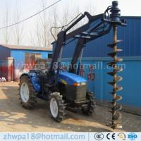 Wholesale Manufacture Tractor Piling machine Tractor Mounted Pile Hole Rigs from china suppliers