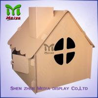Wholesale Corrugated Paper Artwork Cardboard Kids Toys foldable Craft House from china suppliers