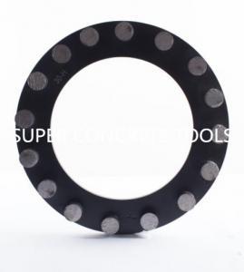 Quality Klindex MTS 240mm 16 Seg Diamond Tools Concrete Marble Floor Grinding Disc Plate for sale