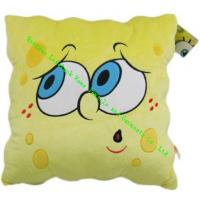 Wholesale Anti-Snore Spongebob Square Throw Pillows , Modern Sofa Cushions For Kids from china suppliers