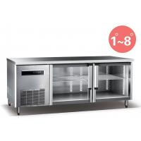 Wholesale Refrigerated Work Table For Kitchen 660L Commercial Refrigerator Freezer R134a Fan Cooling from china suppliers
