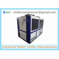 Wholesale 40HP R407c Scroll Type Compressor Industrial Glycol Chiller for Beer and Wine from china suppliers