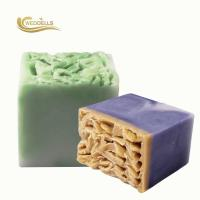 Wholesale Sweet Almond Handmade Face Soap / Fresh Scent Soap Bar For Facial Cleaning from china suppliers
