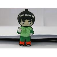 Wholesale Naruto PVC mould Custom USB Memory Stick , Usb Flash Thumb Drive Rock Lee from china suppliers