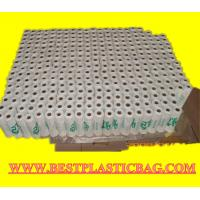Wholesale 28cm + (7cm x 2) x54.5cm Size Biodegradable HDPE material t-shirt plastic bag from china suppliers