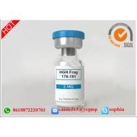 Wholesale Professional Polypeptide Lyophilized Powder HGH Fargment 176 191 For Fitness from china suppliers