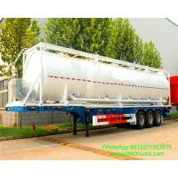 Wholesale 40ft bulk cement tank containers for sale Portable iso Tank Container  WhatsApp:8615271357675  Skype:tomsongking from china suppliers