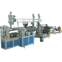 Wholesale 0.8 - 3mm Thickness Plastic Sheet Extrusion Machine Single Screw Extruders from china suppliers
