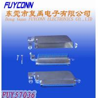 Wholesale 25 Pairs TYCO 90 Degree RJ21 50 Pin Male Plug Centronic Champ IDC connector with Metal cover from china suppliers